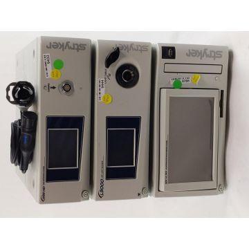 Stryker 1288 Camera Processor System, L9000 LED Light Source, SDC Ultra, Coupler