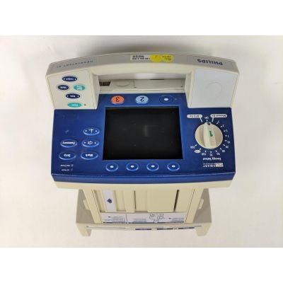 Philips HeartStart XL M4735A | ECG, SpO2, Pacing | Opt ABAC13 | Defibrillator