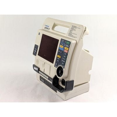 Medtronic Lifepak 12 Biphasic Defibrillator Monitor | Cracked Handle