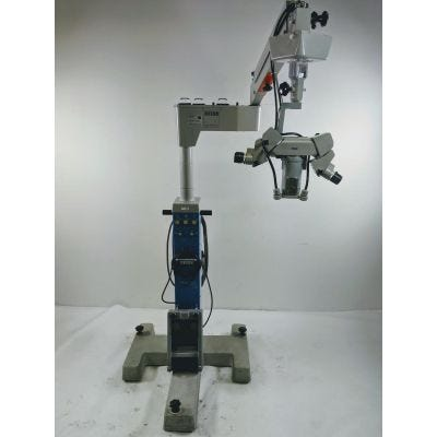 Carl Zeiss OPMI-6 Dual Head 60 degree Bino Optics S3 Stand Surgical Microscope