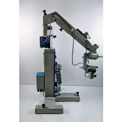 Zeiss OPMI CS S4 f170 0-180 Degree Inc Bino Variable Focus Surgical Microscope