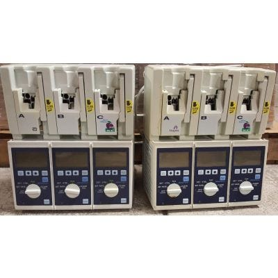 Abbott Plum XL3 Triple Infusion Pump System | Untested | Lot of 61
