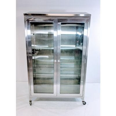 Blickman 7971 Instrument and Supply Cabinet | Stainless Steel Storage