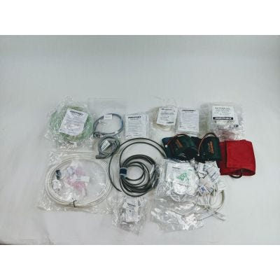 Medrad Lot of Accessories For Medrad Veris model 8600 MR Monitoring System
