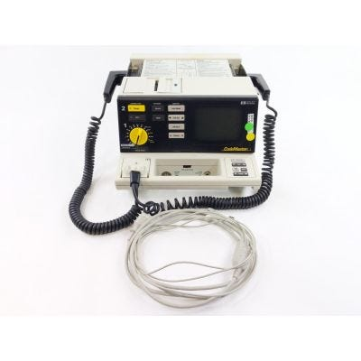 HP M1722B Codemaster Defibrillator | Options ABA, 048, C02, C32 | Hard Paddles