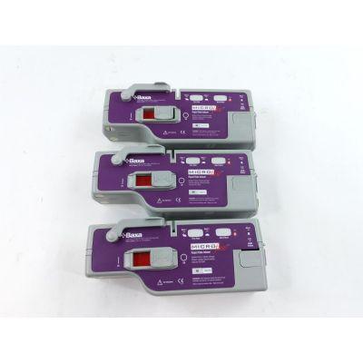 Baxa Microfuse Purple | Lot of 3 | Rapid Rate Infuser Pump by Abbott