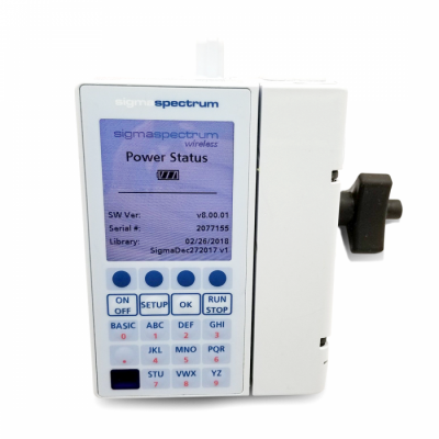 Baxter Sigma Spectrum Infusion Pump | Pole Clamp, AC Adapter, Battery | 1 Year Warranty