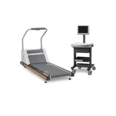 Burdick Quest Stress Test System with Cardiac Science TM-55 Medical Treadmill