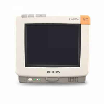 Philips IntelliVue MP5 Patient Monitor | SW Rev. H.15.36 | EKG, BP, SpO2 | 60 Day Warranty