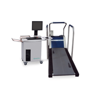Quinton Q-Stress Test System with Cardiac Science TM-55 Medical Treadmill