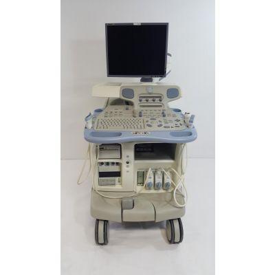 GE Vivid 7 Dimension BT08 | MFG 2007 | 9L, 4C, M4S | Ultrasound | Warranty