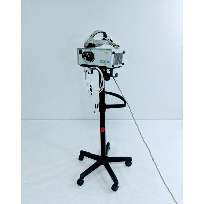 Luxtec Ultralite Surgical Headlight | LX300 Lightsource, Stand